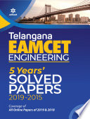 Telangana Eamcet Engineering 5 Years Solved Papers 2020