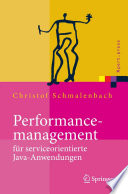 Performancemanagement F R Serviceorientierte Java Anwendungen