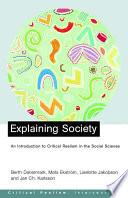 Explaining Society