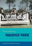 Remembering Paradise Park book