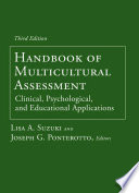 Handbook of Multicultural Assessment