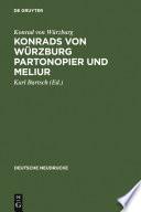 Konrads von Würzburg Partonopier und Meliur