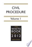 The White Book Service 2012 Volume 1 Ebook