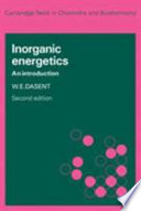 Inorganic Energetics