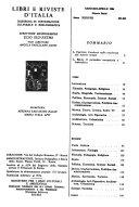 Libri e riviste d Italia