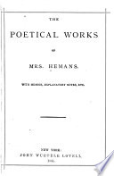 The Poetical Works Of Felicia Hemans book