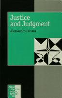 download ebook justice and judgement pdf epub