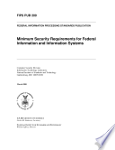 Minimum Security Requirements For Federal Information And Information Systems