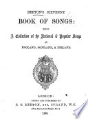 Beeton s Sixpenny Book of Songs  being a collection of the national   popular songs of England  Scotland    Ireland