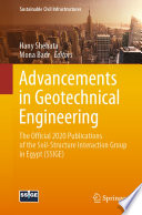 Advancements In Geotechnical Engineering