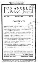 Los Angeles School Journal