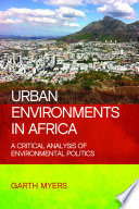 Urban Environments in Africa