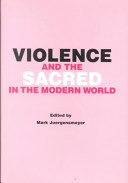 download ebook violence and the sacred in the modern world pdf epub
