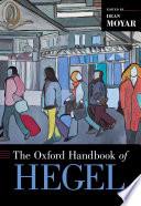 The Oxford Handbook of Hegel