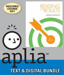 Reading for Results   Aplia  1 term Access