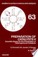 Preparation Of Catalysts V book