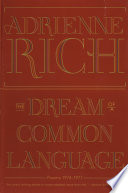 The Dream of a Common Language  Poems 1974 1977