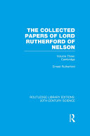 download ebook the collected papers of lord rutherford of nelson pdf epub