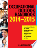 Occupational Outlook Handbook 2014 2015