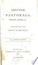 Scottish Pastorals  Poems  Songs  Etc