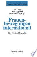 Frauenbewegungen international