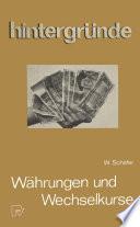 Währungen und Wechselkurse