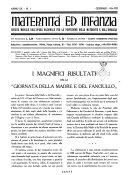 Maternit   e infanzia bollettino mensile illustrato dell Opera nazionale per la protezione della maternit   e dell infanzia