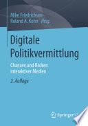 Digitale Politikvermittlung