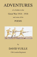download ebook adventures of a soldier in the great war - and some of his poems pdf epub