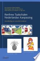 Renfrew Taalschalen Nederlandse Aanpassing - Handleiding en scoreformulieren