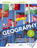 Edexcel A level Geography Book 2 Third Edition