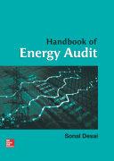 Handbook of Energy Audit