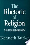 illustration du livre The Rhetoric of Religion