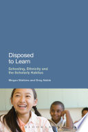 Disposed To Learn