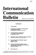 International Communication Bulletin