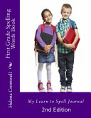 First Grade Spelling Words Book