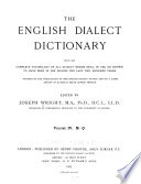 The English Dialect Dictionary  M Q