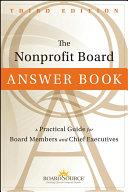 The Nonprofit Board Answer Book