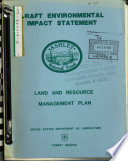 Ashley National Forest  N F    Land and Resource s  Management Plan  LRMP   UT WY