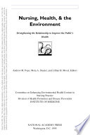 Nursing  Health  and the Environment