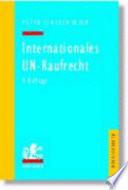 Internationales UN Kaufrecht