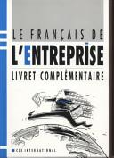 illustration du livre Le français de l'entreprise