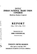 Report   Indian National Trade Union Congress