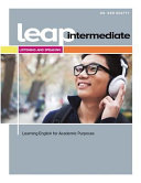 LEAP  Learning English for Academic Purpose  Intermediate Listening and Speaking with MyEnglishLab
