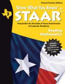 SWYK on STAAR Reading Math Gr  3  Parent Teacher Edition