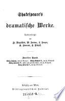Shakespeare S Dramatische Werke