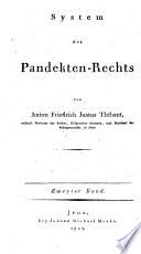 System des Pandekten-Rechts