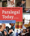 download ebook paralegal today: the essentials pdf epub