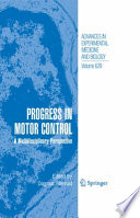 Progress In Motor Control book