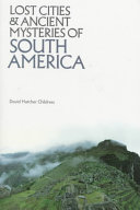download ebook lost cities & ancient mysteries of south america pdf epub